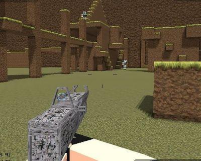Майнкрафт стрелялки