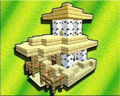 Как построить красивый дом в Майнкрафте