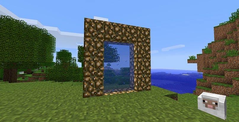 Майнкрафт портал в рай